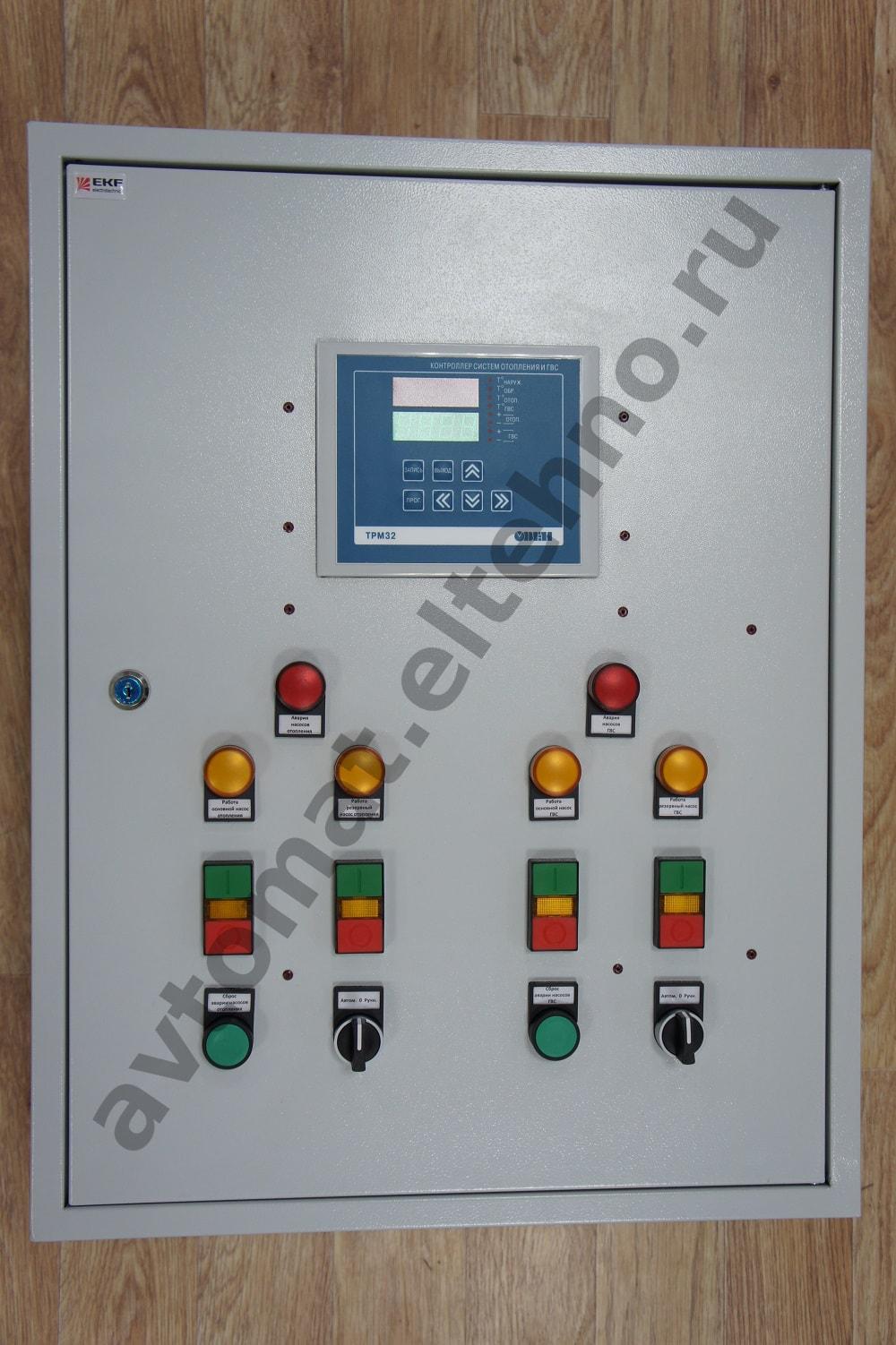 схема теплового пункта с вводами на со и гвс