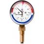 Термоманометр с радиальным присоединением Росма