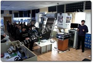 Фото отчет с семинара на тему: Релейная автоматика. Системы умного дома. Диспетчеризация объектов.