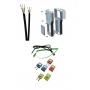 Комплектующие изделия: кабели, корпуса, соединители Рэлсиб