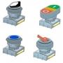 Кнопки и комплектующие Kippribor