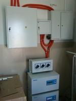 Монтаж электрооборудования  на объекте в с. Юца, Ставропольского края