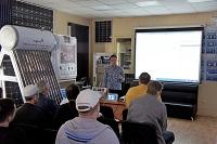 Были рассмотрены вопросы применения  сенсорных панельных контроллеров ОВЕН СПК и CODESYS 3.5. Принципы организации связи по протоколу MODBUS и демонстрация создания архивов.
