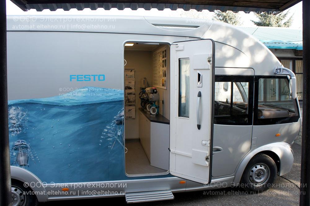 Добро Пожаловать в мир пневматики Festo