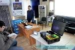 На семинаре были представлены демонстрационная конфигурация системы автоматизации с применением ПЧВ и других приборов ОВЕН