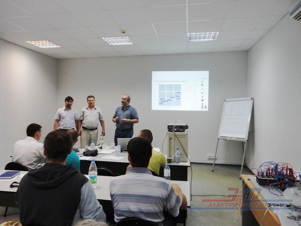 Семинар по приборам пневматики Festo проходил на базе филиала ООО