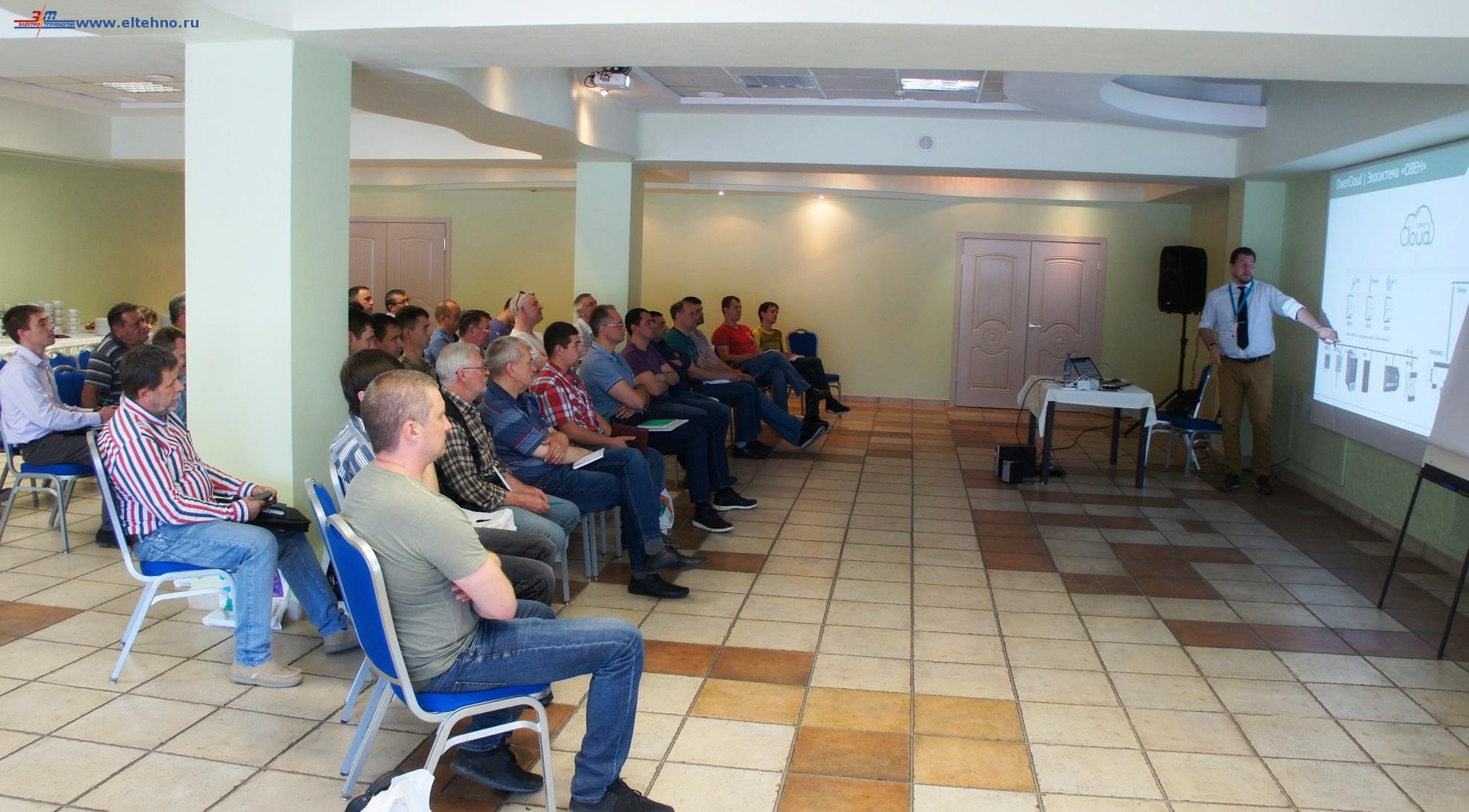 В совместном семинаре, организованном специалистами ОВЕН и официального дилера на КМВ,  компании ООО Электротехнологии, принимали участие инженеры и специалисты в области АСУ, ведущих производтсвенных  компаний СКФО