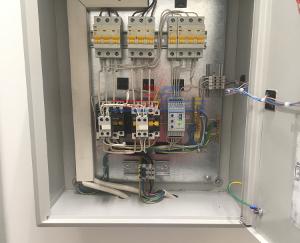 Автоматика щита для системы дымоудаления