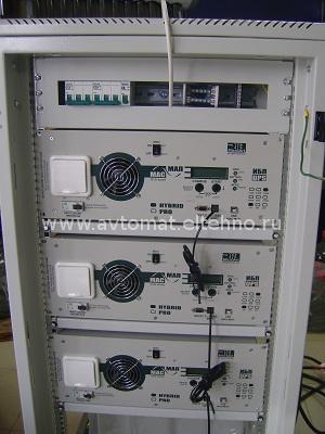 Шкаф системы дымоудаления на базе инверторов МАП Энергия