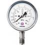 КМВ-22 манометры для измерения низких давлений газов КМ (с мембранной коробкой)
