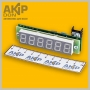 Уникальная цифровая LED (Макеевская) трёхвходовая шкала AKIP-DON