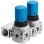 Комбинации регуляторов давления LRB-DB-K  Серия D, полимерный корпус Festo