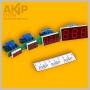 Т-1000 AKIP-DON встраиваемый цифровой измеритель температуры