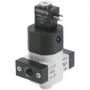 Клапаны подачи/сброса давления, с электроуправлением HEE  Серия D, металлический корпус Festo