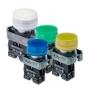 MTB2-BPZ111, MTB2-BPZ112, MTB2-BPZ113, MTB2-BPZ124, MTB2-BPZ115, MTB2-BPZ116 кнопки с защитным кожухом и пружинным возвратом Meyertec