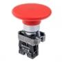 MTB2-BRZ124 кнопка с грибовидным толкателем с пружинным возвратом без фиксации Meyertecc
