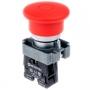 MTB2-BTZ124 кнопк с грибовидным толкателем (тяни-толкай) Meyertec