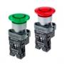 MTB2-BW3613, MTB2-BW4614, MTB2-BW3633, MTB2-BW4634 грибовидные кнопки с LED подсветкой и пружинным возвратом Meyertec
