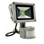 Светодиодный прожектор 10 ватт 220В с датчиком движения Exmork