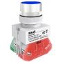 ВК22-ABLF-BLU кнопочный выключатель Dekraft