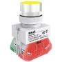 ВК22-ABLF-YEL кнопочный выключатель Dekraft