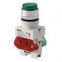 ВК22-ABLFP-GRN-LED кнопочный выключатель Dekraft