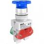 ВК22-AELA-BLU-NEO  кнопочный выключатель Dekraft