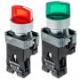 MTB2-BK3361, MTB2-BK3363, MTB2-BK3461, MTB2-BK3463 переключатели 2 положения с подсветкой и фиксацией на 24V и на 220V