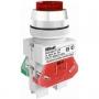 ВК30-ABLFP-RED-LED выключатель кнопочный красный выступающий LED Dekraft