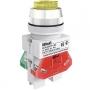 ВК30-ABLFP-YEL-LED выключатель кнопочный жёлтый выступающий LED Dekraft