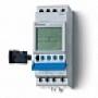 Реле времени Finder Недельный =Astro=, ширина 35.8 мм - 1 контакт, 16 A - AC (50/60Гц) - 230 В - Программируется с ПК