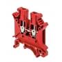MTU-2.5RD клемма винтовая проходная красный на 2,5 мм² MEYERTEC