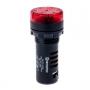 MT22-SM220 Meyertec звонок с подсветкой красного цвета на 220V
