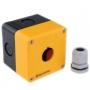 MTB2-PE1Y Meyertec пластиковый корпус жёлтого цвета под одну кнопку