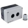 MTB2-PE2 Meyertec пластиковый корпус серого цвета на две кнопки