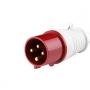 ВП102-4-16-IP44 3P+PE переносная вилка Dekraft