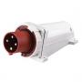 ВС102-4-16-IP44 3P+PE  стационарная вилка Dekraft