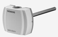 QAE2164.010 - Погружной датчик температуры 10 см 0..10 В Siemens