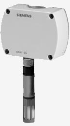 QFA3160 - Комнтаный датчик влажности (DC 0...10 В) и температуры (DC 0...10 В) Siemens