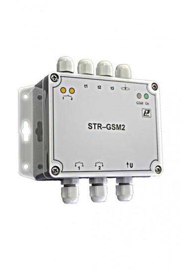 GSM-регулятор температуры многоканальный STR-GSM2 Релсиб