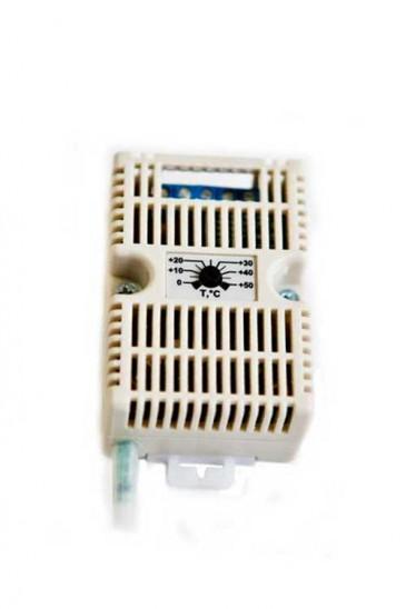 Терморегулятор электронный с датчиком (термостат) ТЭ-01.Д Рэлсиб