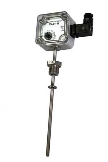 Терморегулятор электронный с датчиком (термостат) ТЭ-01.П Рэлсиб