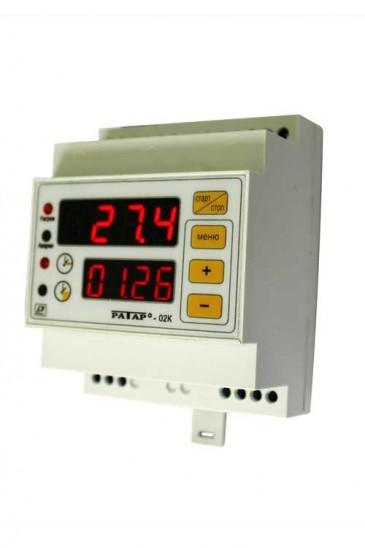 Регулятор температуры со встроенным таймером Ратар-02К Рэлсиб