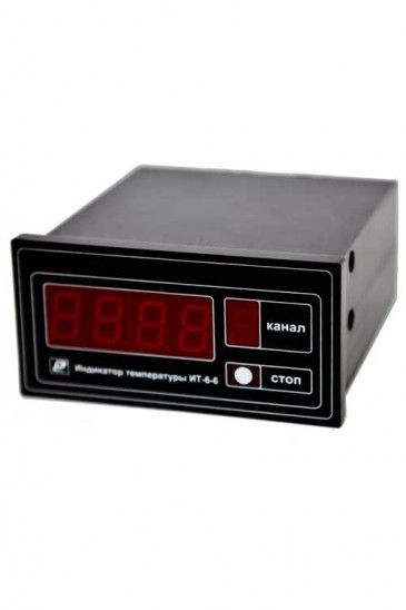 Индикатор температуры шестиканальный ИТ6-6 Рэлсиб