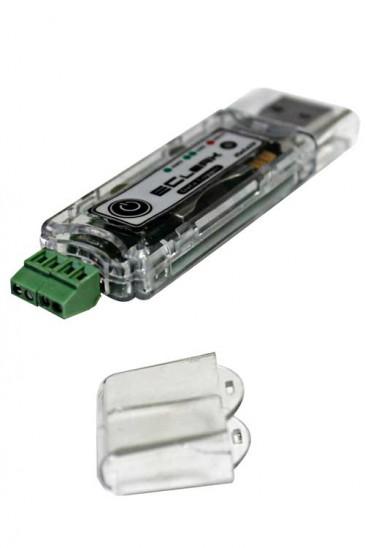 2-х канальный универсальный автономный регистратор напряжения (логгер) EClerk-USB-2mV