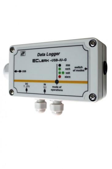 Регистратор унифицированных сигналов тока и напряжения EClerk-USB-IU-G