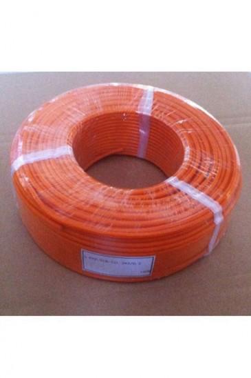 Гибкий высокотемпературный термокомпенсационный кабель S-FEP-TCB-SIL-2*0.2 Рэлсиб