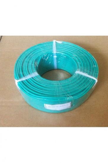 Гибкий высокотемпературный термопарный кабель K-FEP-TCB-SIL-2*19/0.12 Рэлсиб
