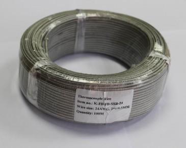 K-FB-FB-SSB-24 (2*1/0,5) высокотемпературный нагревательный кабель Рэлсиб