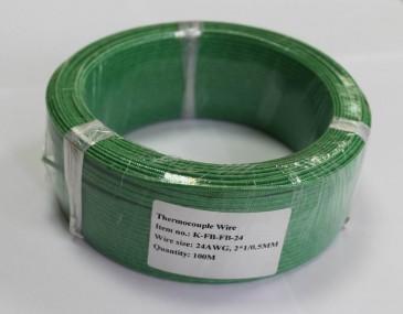 K-FB-FB-24 (2*1/0,5) высокотемпературный термопарный кабель Рэлсиб